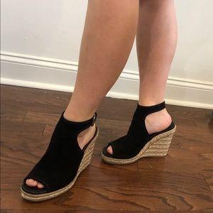 Prada wedged heel shoes